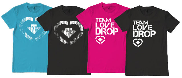 love drop t-shirts!